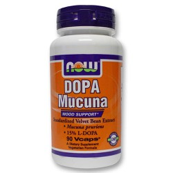 Now Dopa Mucuna 90 veg.caps
