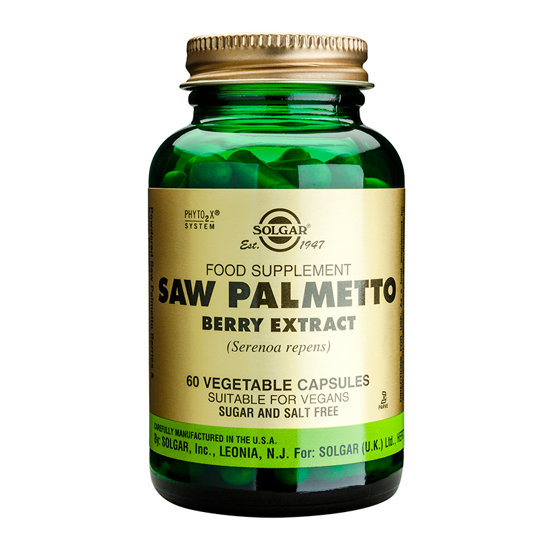 Saw Palmetto Berry Extract veg. caps