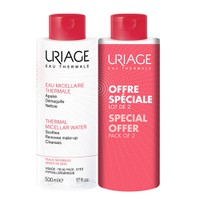 URIAGE MICELLAR WATER (SENSITIVE SKIN) 500ML (PROMO PACK 2ΤΕΜ)