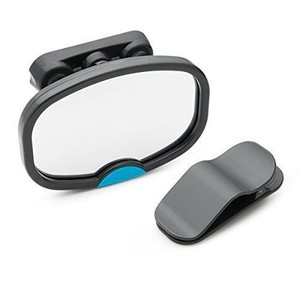 Dual sight baby car mirror