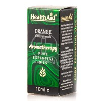 HEALTH AID - AROMATHERAPY Pure Essential Oil Orange - 10ml