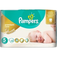 PAMPERS PREMIUM CARE No5 (11-18 KG) JUMBO (44TEM)