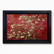 Van gogh   almond blossom red 302 52  65x40