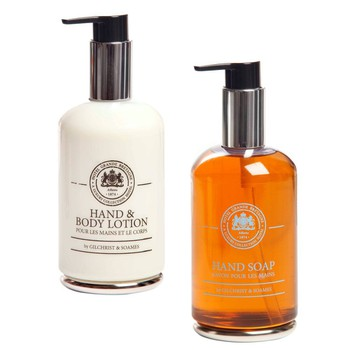 GB Hand Soap and GB Hand & Body Lotion