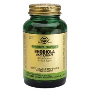 SOLGAR Rhodiola root extract 60caps