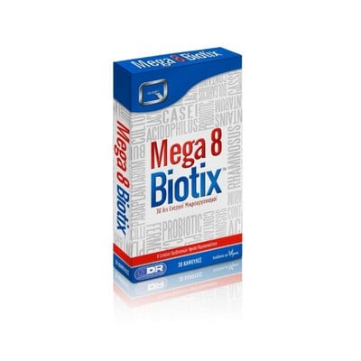Quest Vitamins - Mega 8 Biotix - 30caps