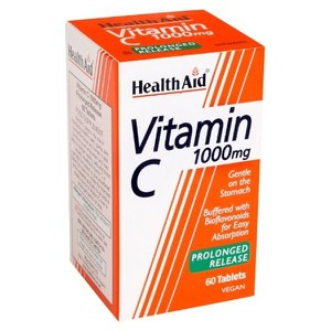 HEALTH AID Vitamin C 1000mg PROLONGED RELEASE 60 Ταμπλέτες