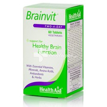 Health Aid BRAINVIT - Μνήμη, 60tabs.