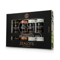 ZEALOTS OF NATURE - PROMO PACK Ηair And Body Care Set - REFRESHING Shampoo - 100ml, REFRESHING Conditioner - 100ml, REFRESHING Shower Bath - 100ml & REFRESHING Body Milk - 100ml