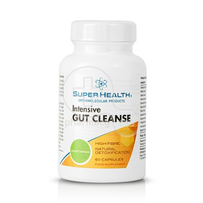 SUPER HEALTH - Intensive Gut Cleanse - 60caps