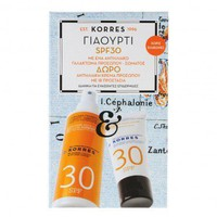 Korres Promo Sunscreen Face & Body Emulsion Yoghurt SPF30 150ml & Δώρο Sunscreen Face Cream Yoghurt  SPF30 50ml