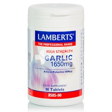 Lamberts GARLIC 1650mg - Σκόρδο, 90 tabs