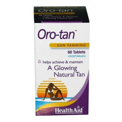 Health Aid Oro-Tan Sun Tanning For A Glowing Natural Tan 60tabs