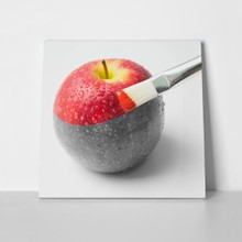 Painting a red apple 264824663 a
