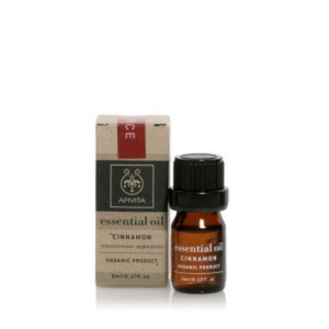 Apivita essential oil cinnamon winter spice 5ml