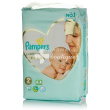 Pampers No.2 (4-8 kg) - Premium Care, 68τμχ.