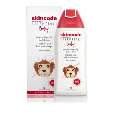 Skincode - Baby Moisturizing Daily Body Lotion, Βρεφική Ενυδατική Λοσιόν - 200ml