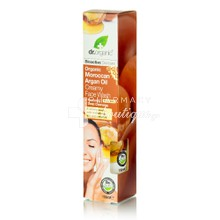 Dr.Organic Argan Oil CREAMY FACE WASH, 150ml
