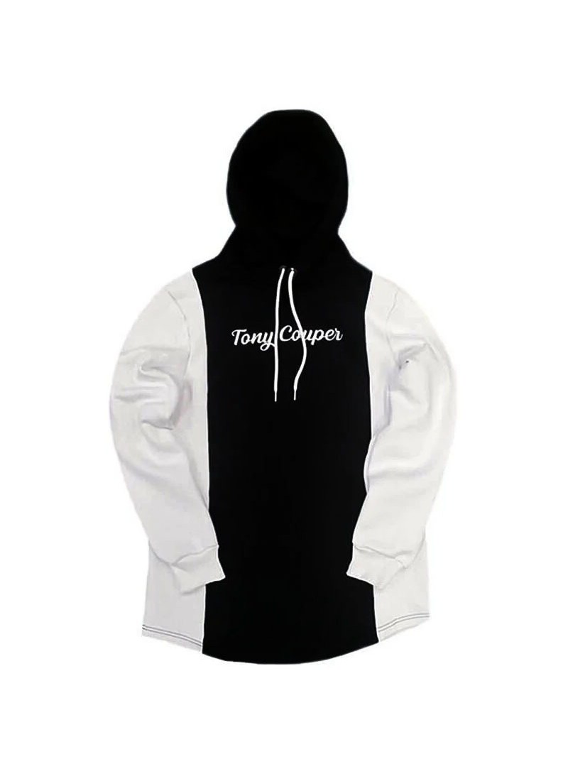 TONY COUPER HOODIE H20/23 DOUBLE WHITE BLACK