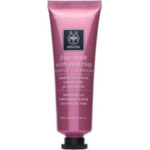 Apivita pink clay mask 50ml
