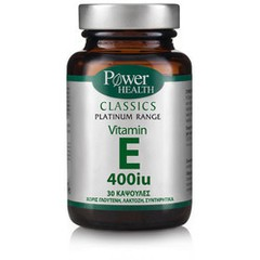 Power Health Classics Platinum Vitamin E 400iu 30 κάψουλες