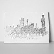 Center of london sketch 108185024 a