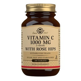 Solgar Vitamin C with Rose Hips1000mg 100 δισκία
