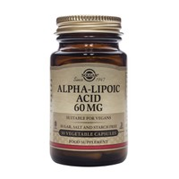 SOLGAR ALPHA LIPOIC ACID 60MG 30CAPS