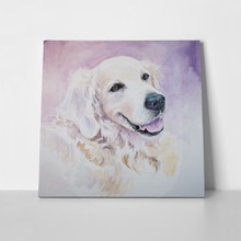 Golden retriever watercolors 122912626 a