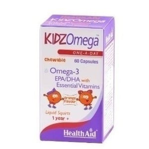 Health aid kidzomega 60 chewable capsules