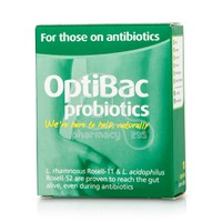 OPTIBAC - PROBIOTICS For Those On Antibiotics - 10caps