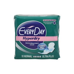 EVERYDAY ΣΕΡΒΙΕΤΕΣ HYPERDRY ULTRA PLUS NORMAL 10 ΤΜΧ