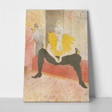 Toulouse lautrec seated clowness 751010665 a