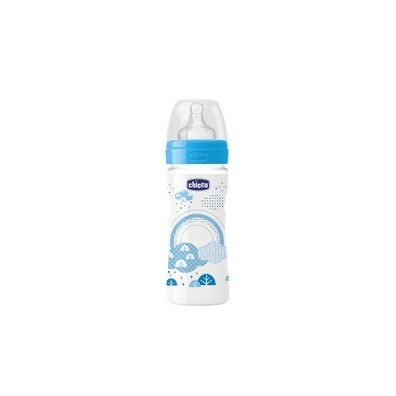 1458720081 0 chicco well being bottle 2m plastiko mpimpero kata ton kolikon me thili silikonis galazio xroma 330ml