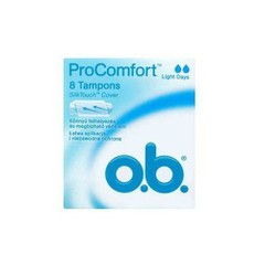O.B. ProComfort Light Days, 8 τεμάχια