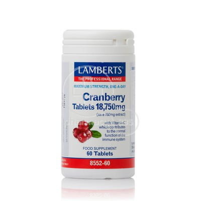 LAMBERTS - Cranberry Tablets 18,750mg - 60tabs