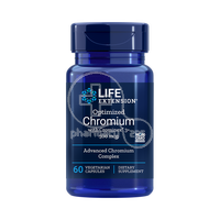 LIFE EXTENSION - Optimized Chromium with Crominex 3+ 500mcg - 60caps