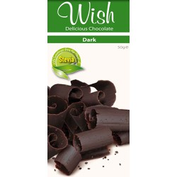 Wish Delicious Stevia Dark Chocolate 50gr