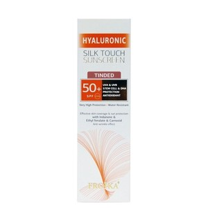 Froika hyaluronic silk touch sunscreen tinted spf 50 40ml