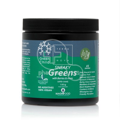 TERRANOVA - Green Child Sneaky Greens Super-Shake - 180gr