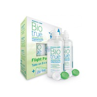 BIO TRUE (BAUSCH + LOMB) SOLUTION FLIGHT PACK