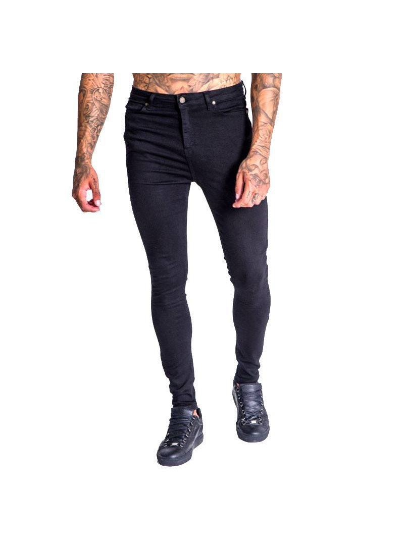 Gianni Kavanagh Clean Black Jeans