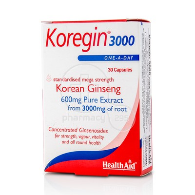 HEALTH AID - KOREGIN 3000 - 30caps