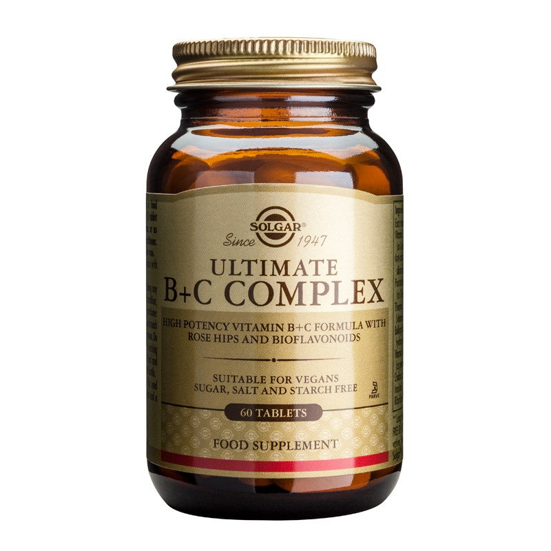 Ultimate B + C Complex tablets