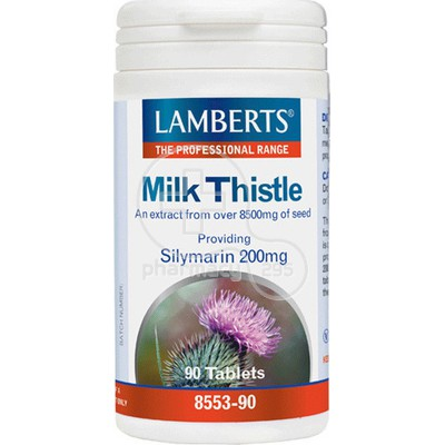 LAMBERTS - Milk Thistle 8500mg - 90tabs