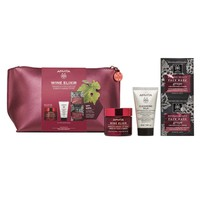 Apivita Set Wine Elixir Rich Texture 50ml & Δώρο Cleansing Milk 50ml & Face Mask Grape 2x8ml Σε Συλλεκτικό Νεσεσέρ