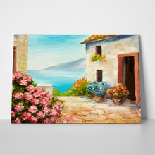 Greek summer painting 6 a
