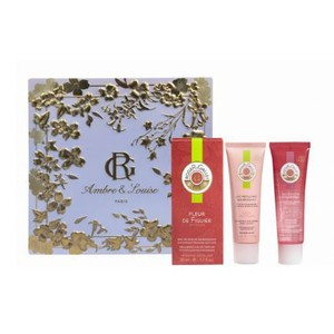 Roger gallet red ginger set