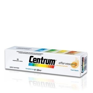 Centrum a to zinc effervescent