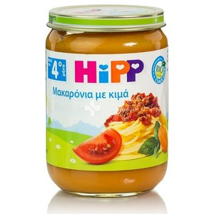 Hipp speggetti with meat 190gr